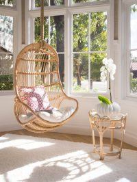 REVIEW: Natural Rattan Swing Chair by Kouboo
