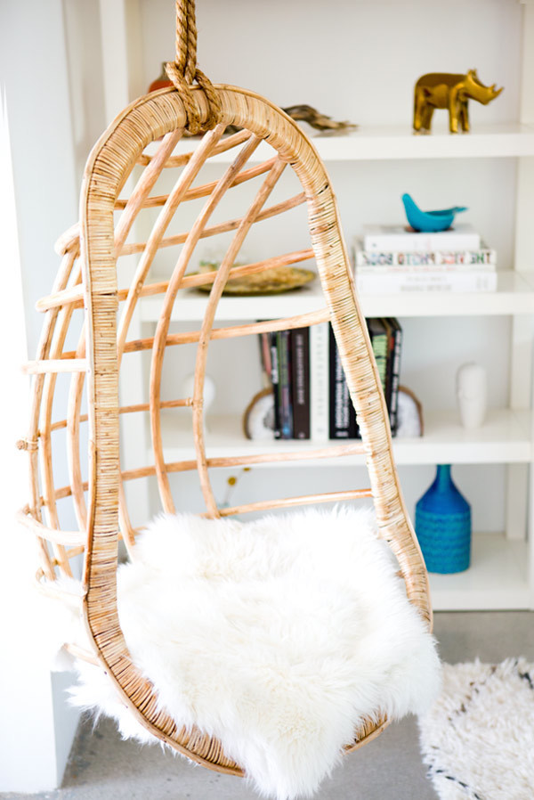 REVIEW Natural Rattan Swing Chair by Kouboo
