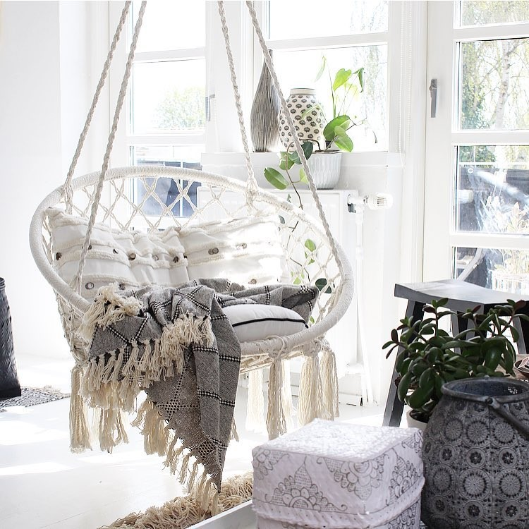 REVIEW: Macrame Hammock Swing Chair by Sorbus