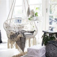 REVIEW: Macrame Hammock Swing Chair by Sorbus
