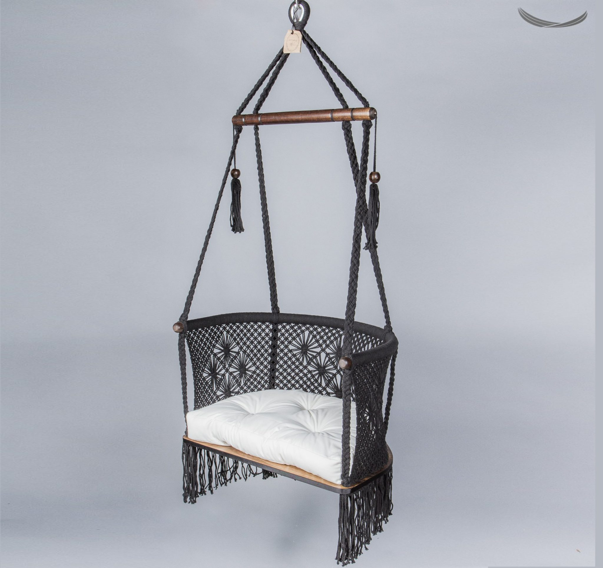 swing chair benefits how to tie a sash review stylish macrame hanging by hang hammock collective