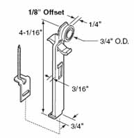 Pocket Door Rollers locks and guides