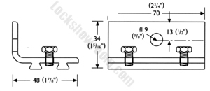 PCHenderson Flexirol Sliding Door Track and rollers