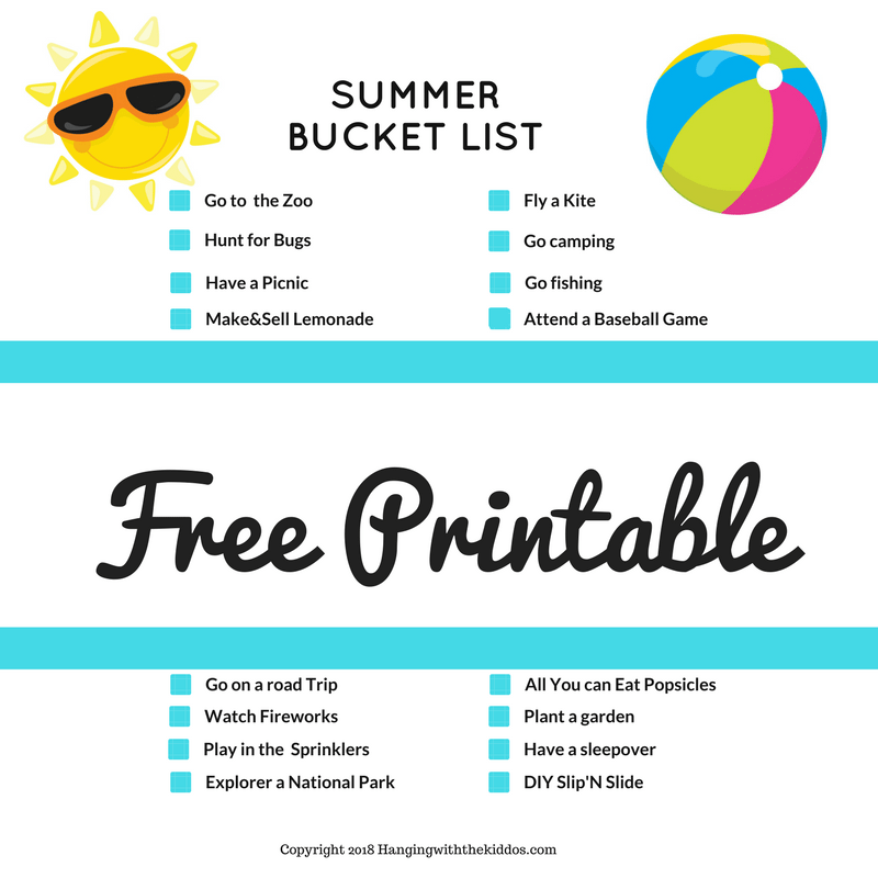 Family Summer Bucket List: 50 Fun, Cheap and Free Summer Ideas