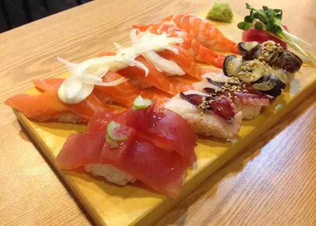 小ぶりだが美味しい韓国の日本料理お寿司