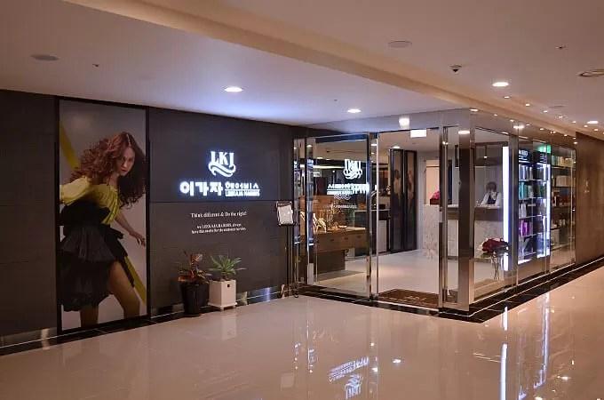 LEEKAJA HAIRBIS 蚕室(チャムシル)ロッテ店