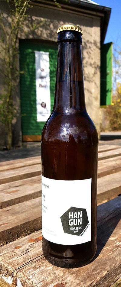 Belgisk blonde. Øl fra Hangun Mikrobryggeri