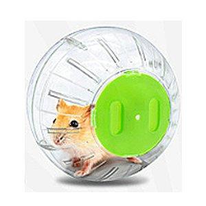 Jolly 楓葉鼠健身球(透明綠蓋)-13公分 – 韓韓-鼠兔人間
