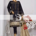 Summer Embroidered Lawn Collection Vol-1 EMB-1409 1