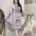 Summer Medley Lawn Printed And Embroidered Collection D-1476 B 1