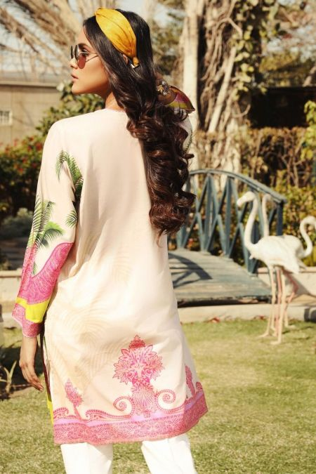Embroidered Kurti Top SS20BSP233