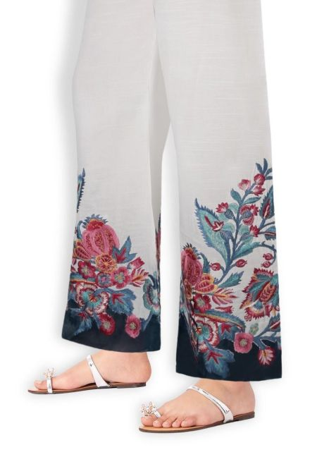 Embroidered Trouser SS20TRE286