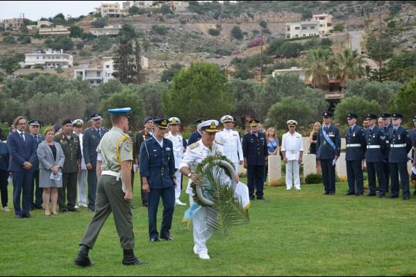 Uroczystości obchdów Bitwy o Kretę w Maleme