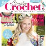 Simply Crochet Magazine Issue 32 Front Cover Flower Power