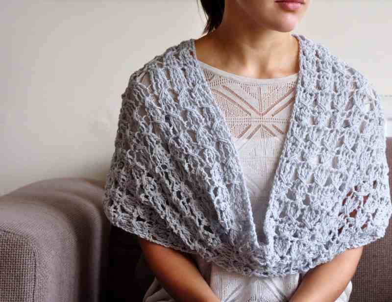 The Classic Cowl Crochet Pattern by Hannah Cross HanJan Crochet crochet scarf, crochet shawl