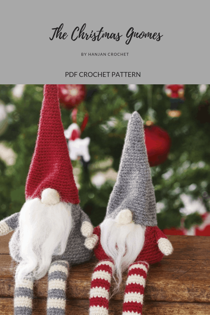 Christmas Gnomes Pattern.Simply Crochet Issue 38 Christmas Gnomes And Woodland