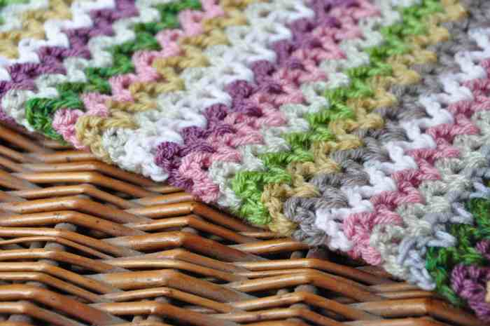 how to crochet v stitch