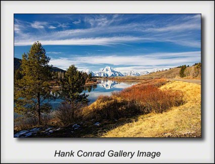 Road to Oxbow Bend
