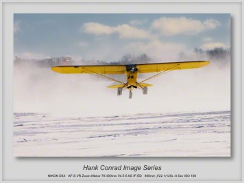 1/11/2014 Piper PA-18 Super Cub on Skis