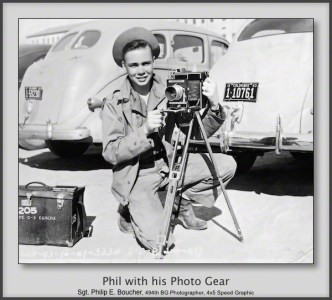 Phil with his Photo Gear