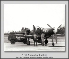 P-39 Airacobra Fueling