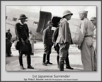1st Japanese Surrender