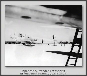 Japanese Surrender Transports