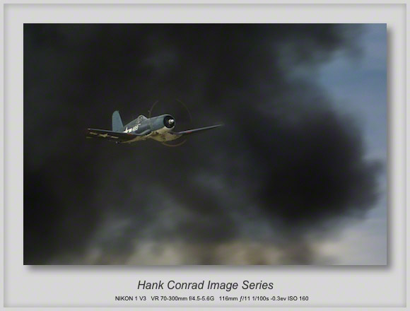 F4U Corsair Attacking