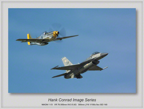 Heritage Flight: P-51 & F-16