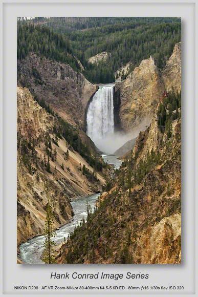 Lower Falls at Grand Canyon of Yellowstone