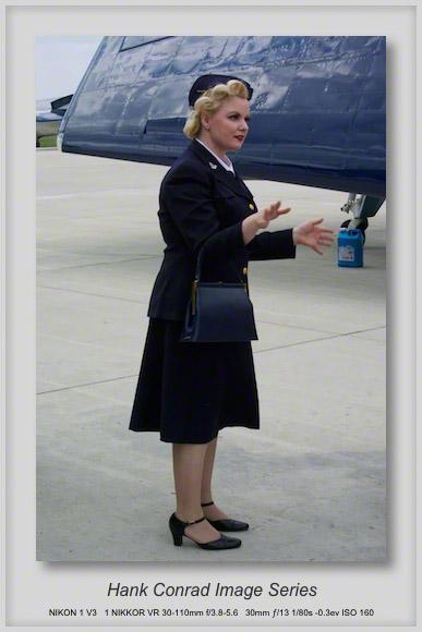 Air Show Reenactor
