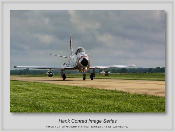 F-86 Sabre Taxiing