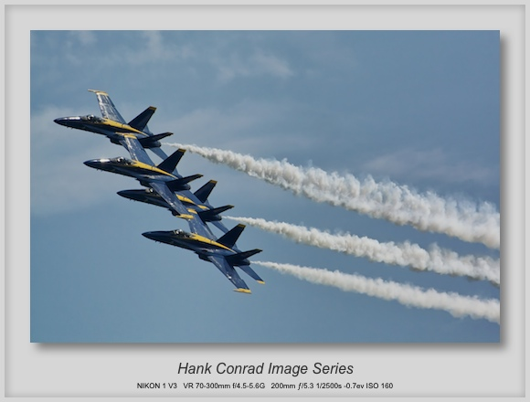 The Blue Angels at the Chicago Air & Water Show
