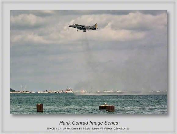 AV-8B Harrier at the Chicago Air & Water Show