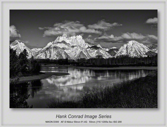 Oxbow Bend at Grand Teton NP
