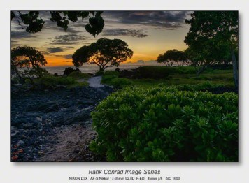 Big Island Sunsets | Seashore Path