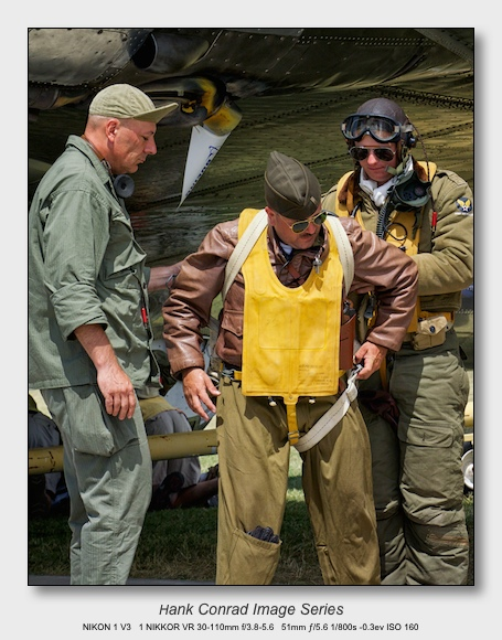 Nikon 1 V3 for Aviation | WWII Bomber Crew Reenactors