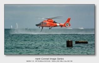 Nikon 1 V3 for Aviation | U.S. Coast Guard MH-65 Dolphin Rescue Helicopter