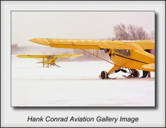 Cub & Super Cub on Skis