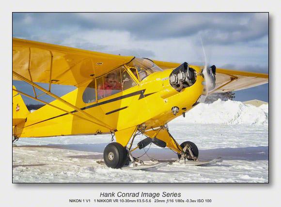 Ski Plane Weekend | Piper J-3 Cub on Skis