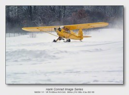 Ski Plane Weekend | J-3 Cub on Skis