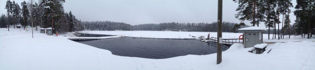 ice swimming finland