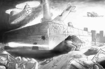 Wal mart battle