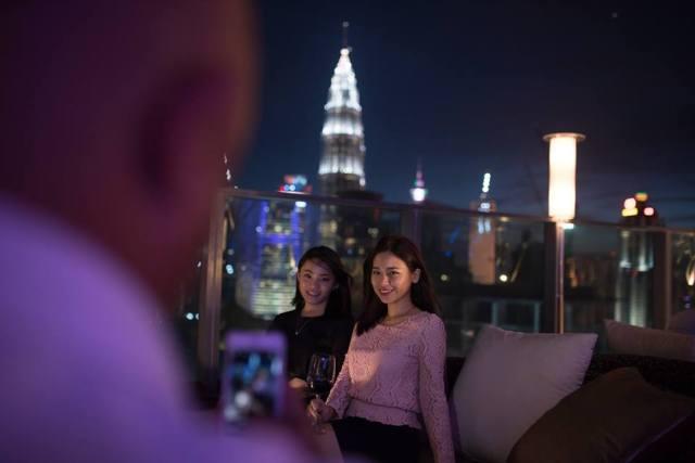 k - New Rooftop Bar in KL 2016 - Roofino Skydining & Bar, Jalan Tun Razak