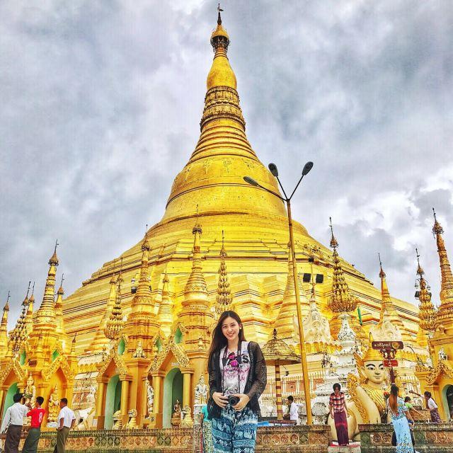 j 1024x1024 - The Golden Pagoda - S H W E D A G O N Pagoda, Myanmar