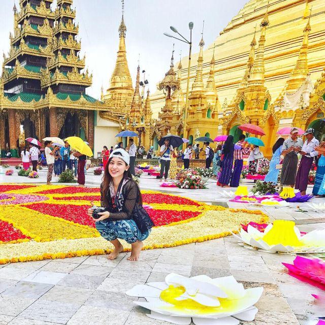 kk 1024x1024 - The Golden Pagoda - S H W E D A G O N Pagoda, Myanmar
