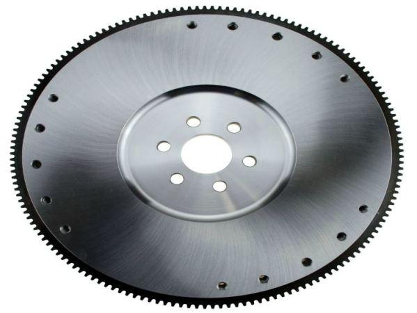 hms, hanlon motorsports, flywheel, billet ram, ram clutch, sfi certified, hi strength, 157 tooth, 28 oz balanced, 6 bolt