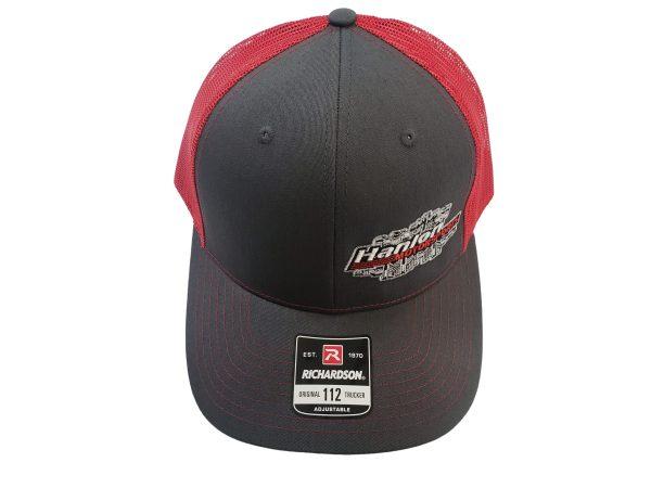 red, grey, black, gray, apparel, Hat, HMS Hat, Hanlon Motorsports Hat, Snapback, Snapback Hat, Richardson Hat, Richardson, Richardson Snapback, Richardson 112, HMS, HMS Apparel, Hanlon Motorsports, Hanlon Motorsports Apparel