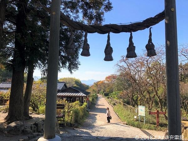 奈良一人旅・山の辺の道・檜原神社からの見晴らし