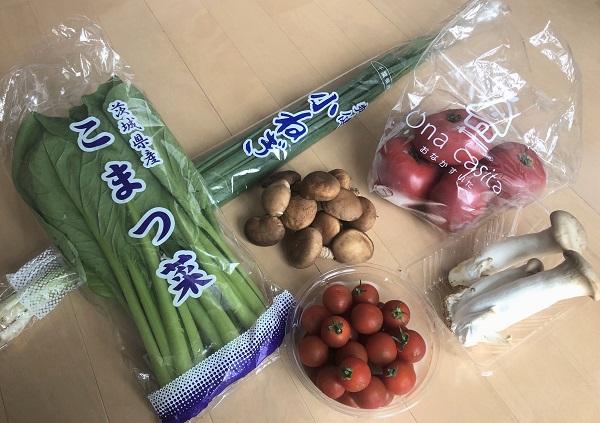 202005「おなかすいた笹塚店」で買った国産&新鮮&激安の野菜たち